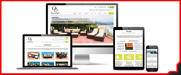 Responsive web design, mobile friendly web design, visual brand, CSS work